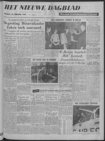 Nieuwe Schiedamsche Courant 1962-02-23