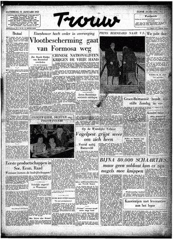 Trouw / De Rotterdammer 1953-01-31