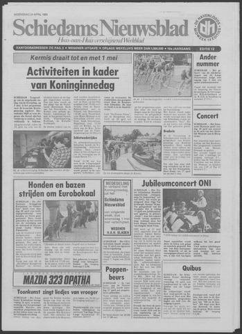 Schiedams Nieuwsblad 1985-04-24