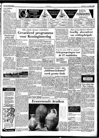 Trouw / De Rotterdammer 1962-04-17