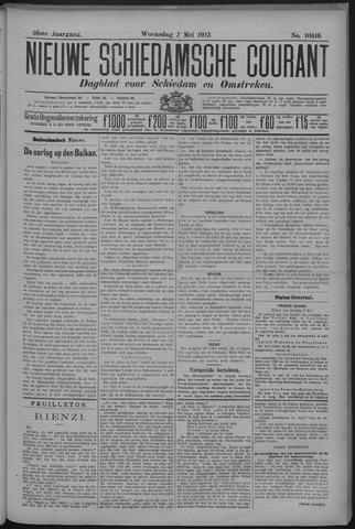 Nieuwe Schiedamsche Courant 1913-05-07