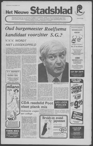 Het Nieuwe Stadsblad 1977-11-16