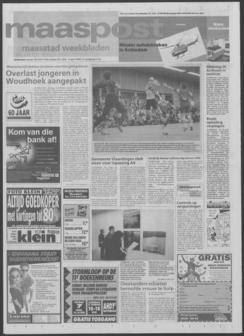 Maaspost / Maasstad / Maasstad Pers 2000-04-05