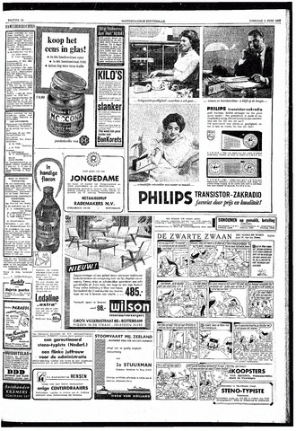 Rotterdamsch Nieuwsblad / Schiedamsche Courant / Rotterdams Dagblad / Waterweg / Algemeen Dagblad 1959-06-02