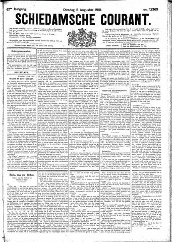 Schiedamsche Courant 1910-08-02