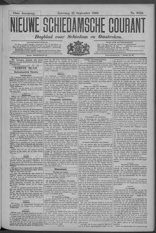 Nieuwe Schiedamsche Courant 1909-09-25