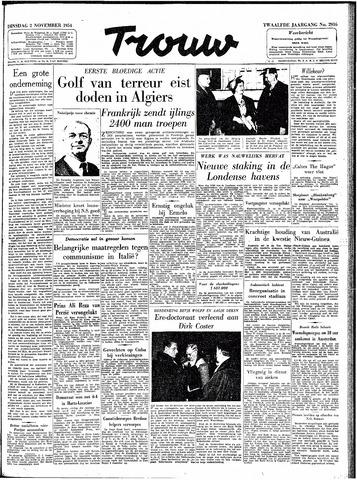 Trouw / De Rotterdammer 1954-11-02
