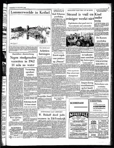 Rotterdamsch Parool / De Schiedammer 1963-08-21