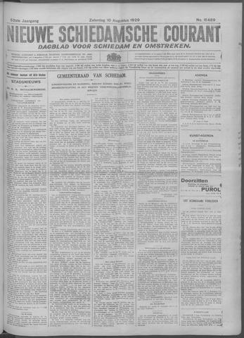 Nieuwe Schiedamsche Courant 1929-08-10