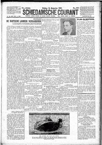 Schiedamsche Courant 1931-08-14