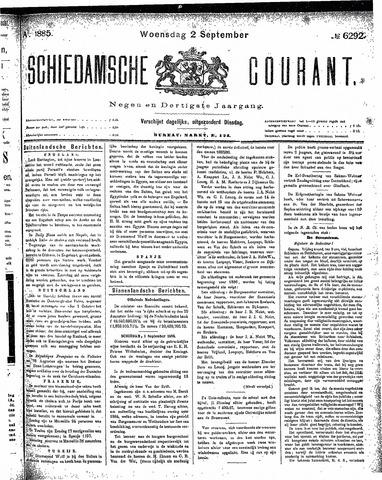 Schiedamsche Courant 1885-09-02