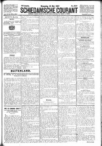 Schiedamsche Courant 1927-05-25