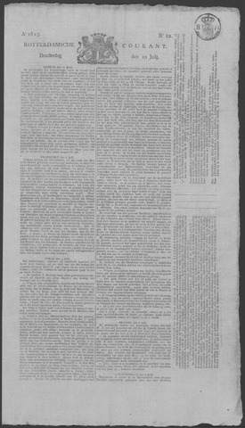 Rotterdamse Courant 1823-07-10