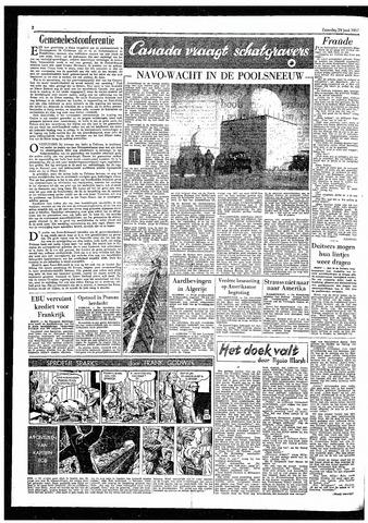Rotterdamsch Parool / De Schiedammer 1957-06-29