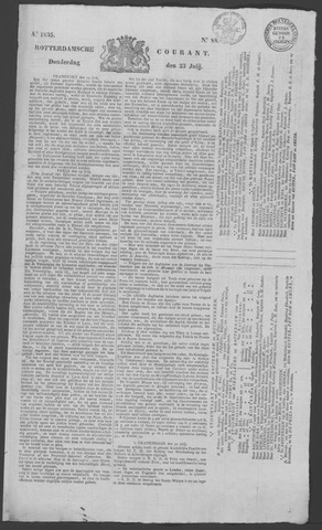 Rotterdamse Courant 1835-07-23