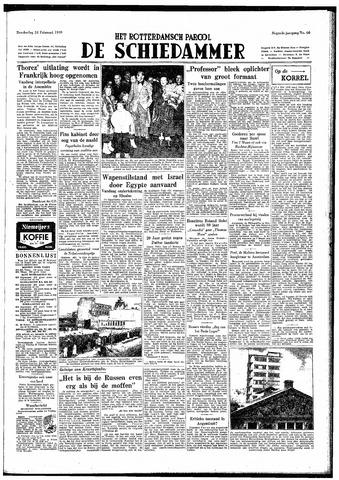 Rotterdamsch Parool / De Schiedammer 1949-02-24