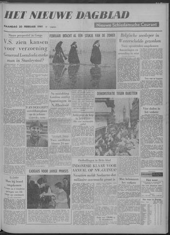 Nieuwe Schiedamsche Courant 1961-02-20