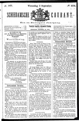 Schiedamsche Courant 1877-09-05