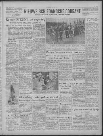 Nieuwe Schiedamsche Courant 1949-05-19
