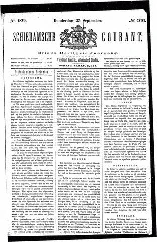 Schiedamsche Courant 1879-09-25