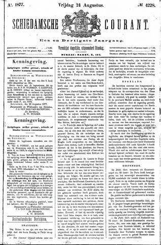 Schiedamsche Courant 1877-08-24