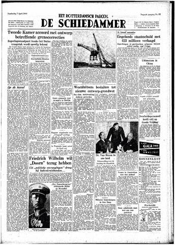Rotterdamsch Parool / De Schiedammer 1949-04-07