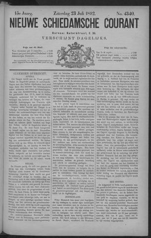 Nieuwe Schiedamsche Courant 1892-07-23