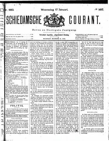 Schiedamsche Courant 1883-01-17