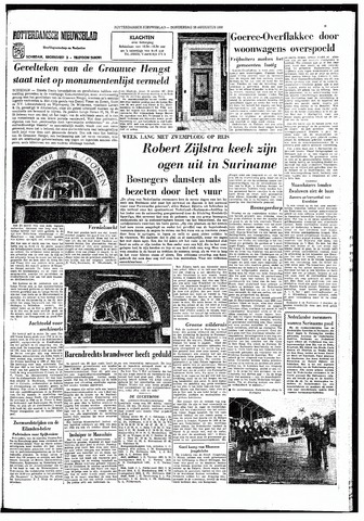 Rotterdamsch Nieuwsblad / Schiedamsche Courant / Rotterdams Dagblad / Waterweg / Algemeen Dagblad 1966-08-18