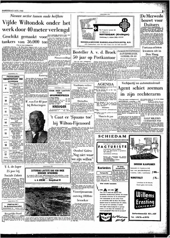 Rotterdamsch Parool / De Schiedammer 1962-08-02