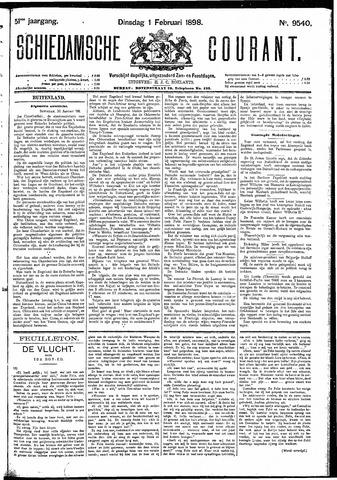Schiedamsche Courant 1898-02-01
