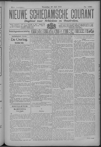 Nieuwe Schiedamsche Courant 1918-07-29