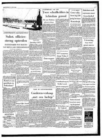 Rotterdamsch Parool / De Schiedammer 1963-06-27