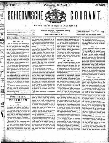 Schiedamsche Courant 1883-04-14