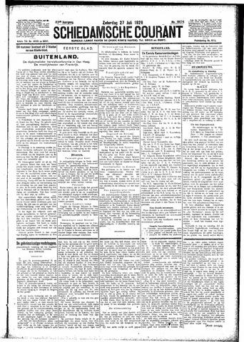 Schiedamsche Courant 1929-07-27