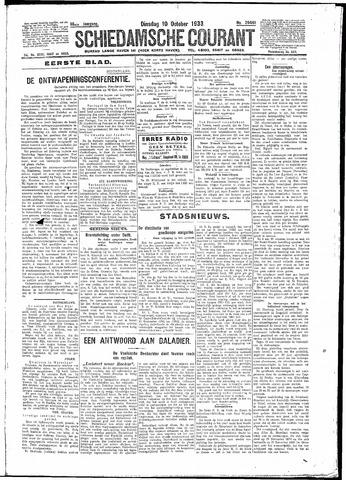 Schiedamsche Courant 1933-10-10