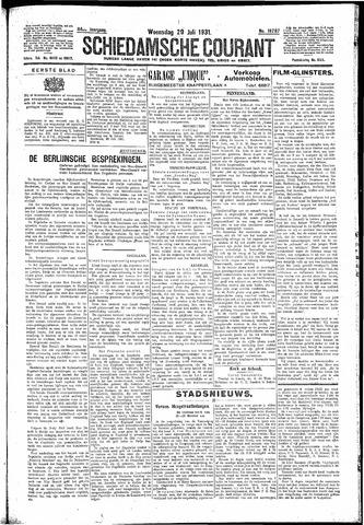 Schiedamsche Courant 1931-07-29