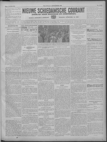 Nieuwe Schiedamsche Courant 1933-09-11
