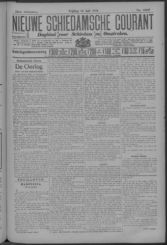Nieuwe Schiedamsche Courant 1918-07-12