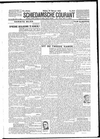 Schiedamsche Courant 1933-02-10
