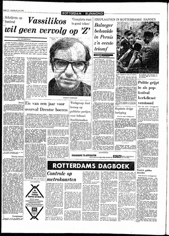 Rotterdamsch Parool / De Schiedammer 1970-06-20