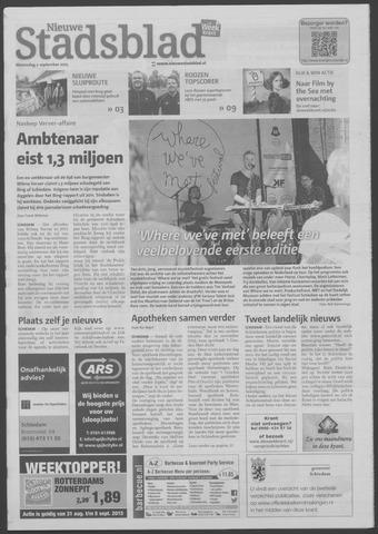 Het Nieuwe Stadsblad 2015-09-02