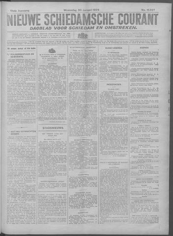 Nieuwe Schiedamsche Courant 1929-01-30