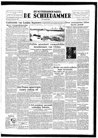 Rotterdamsch Parool / De Schiedammer 1947-11-26