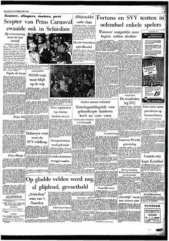 Rotterdamsch Parool / De Schiedammer 1963-02-25
