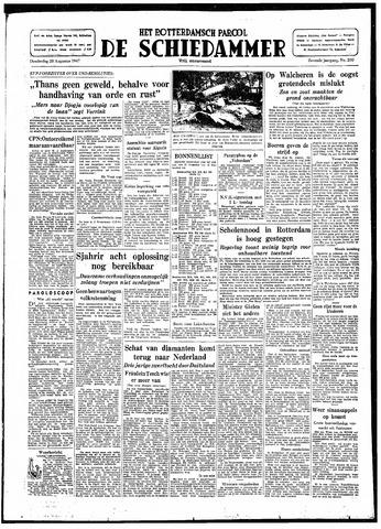 Rotterdamsch Parool / De Schiedammer 1947-08-28