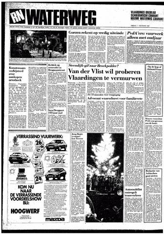 Rotterdamsch Nieuwsblad / Schiedamsche Courant / Rotterdams Dagblad / Waterweg / Algemeen Dagblad 1987-12-11