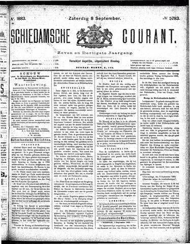 Schiedamsche Courant 1883-09-08