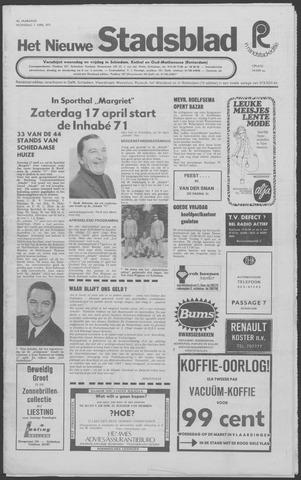 Het Nieuwe Stadsblad 1971-04-07