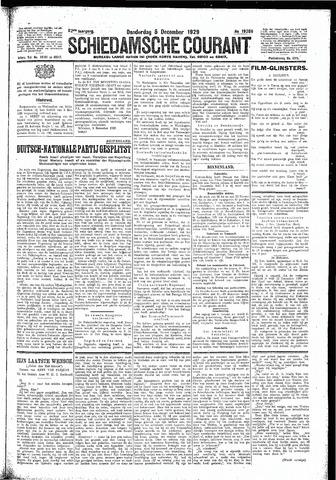 Schiedamsche Courant 1929-12-05